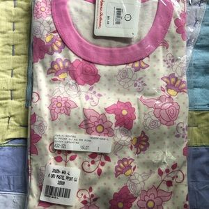 NWT HANNA ANDERSSON FLORAL PAJAMA SET SIZE L